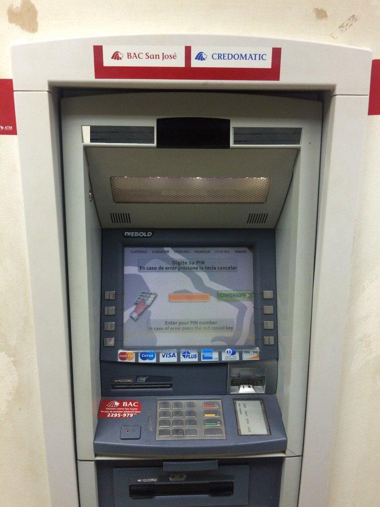 Geldautomat costa Rica