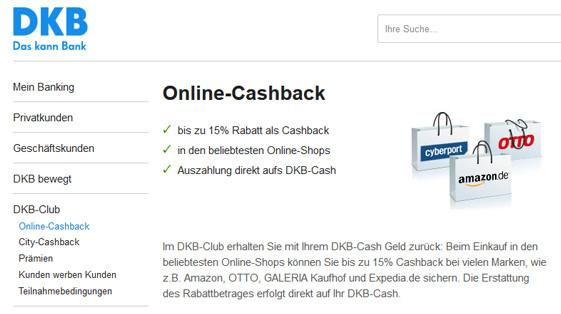 Dkb Cashback Screenshot