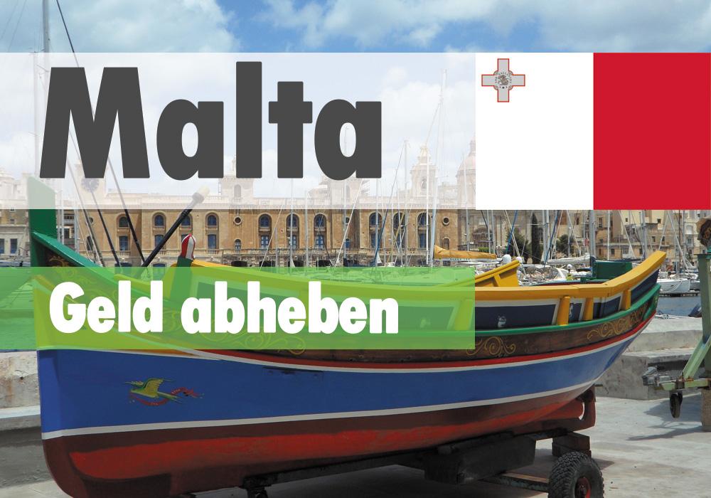 Geld abheben in Malta