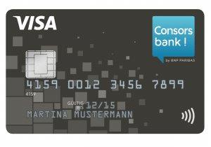 Consors Bank Visa