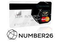 Kostenlose Kreditkarte - Number26