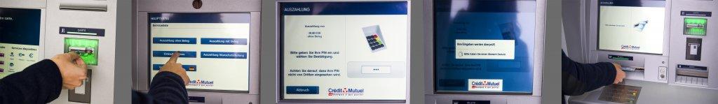 Geldautomat Frankreich kostenlose abheben