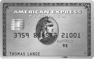 Luxus Kreditkarte - American Express Platinum