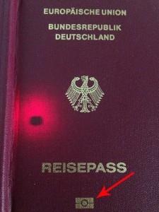 Reisepass RFID CHIP
