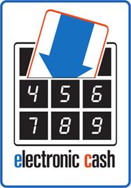 Electronic Cash PIN-Pad Logo
