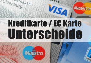 ec karte Unterschiede Kreditkarte und EC Karte / Girocard | Einfach Erklärt