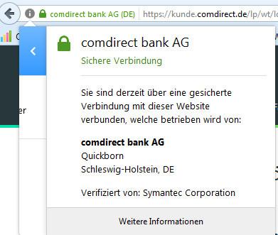 comdirect onlinebanking sicherheit