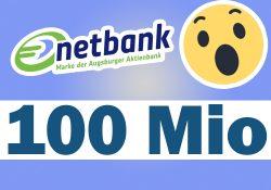100 Mio Sommer 2019 bei der Netbank